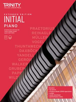 Piano Exam Pieces & Exercises 21-23 Initial Ext Ed Product Image