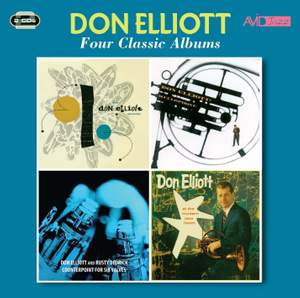 Four Classic Albums (don Elliott Quintet / Mellophone / Counterpoint For Six Valves / At the Modern Jazz Room)