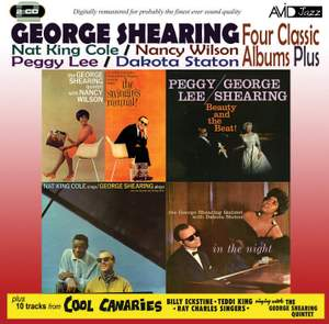 Four Classic Albums Plus (the Swingin's Mutual! / in the Night / Beauty and the Beat / Nat King Cole Sings - George Shearing Plays) Product Image