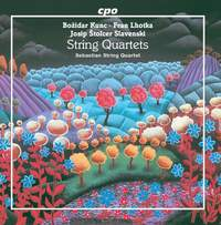Kunc, Lhotka and Slavenski: String Quartets