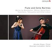 Flute and Cello Rarities: Works by Beethoven, Bozza, Karg-Elert, Telemann, Tokuyama and Villa-Lobos