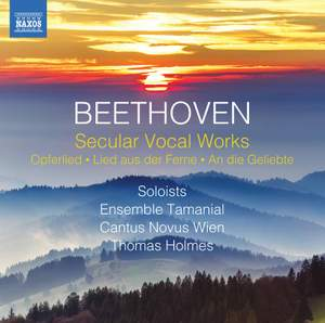 Beethoven: Secular Vocal Works Product Image