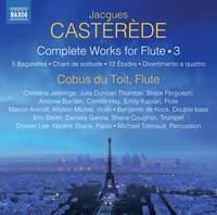 Castérède: Complete Works for Flute Vol. 3