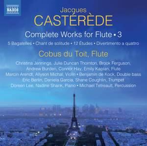 Castérède: Complete Works for Flute Vol. 3 Product Image