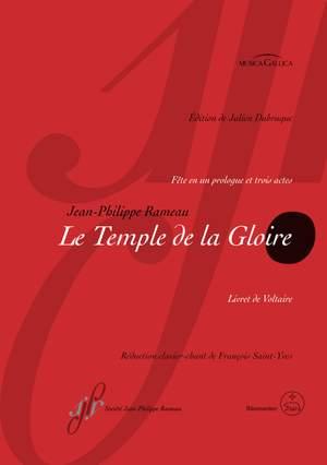 Rameau, Jean-Philippe: Le Temple de la Gloire RCT 59