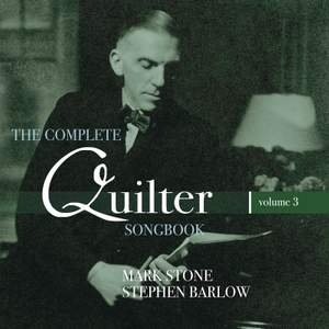 Roger Quilter: The Complete Quilter Songbook, Vol. 3 Product Image