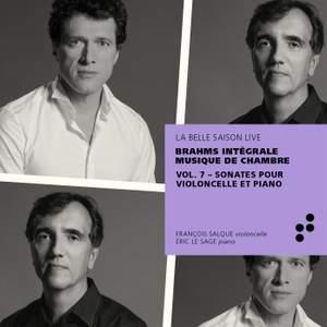 Brahms: Sonates pour violoncelle et piano (Intégrale musique de chambre), Vol. 7
