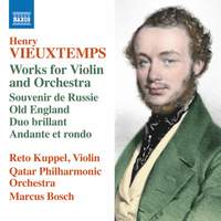 Vieuxtemps: Works for Violin & Orchestra