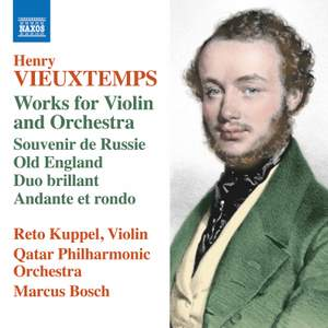 Vieuxtemps: Works for Violin & Orchestra Product Image