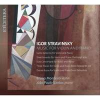 Stravinsky: Music for Violin and Piano