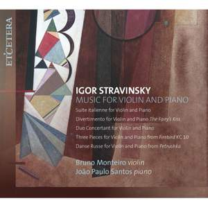 Stravinsky: Music for Violin and Piano Product Image