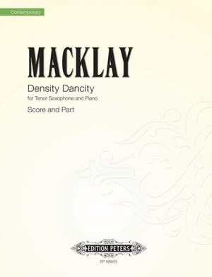 Macklay, Sky: Density Dancity (score & part)