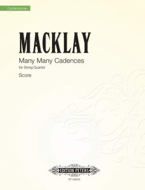 Macklay, Sky: Many Many Cadences (score)