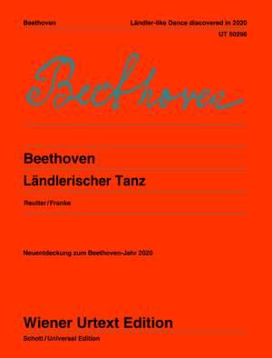 Beethoven: Ländlerischer Tanz Product Image