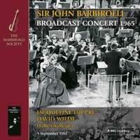 Broadcast Concert 1965: Music by Bruch, Franck, Rimsky-Korsakov & Suppé
