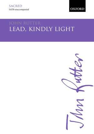 Rutter, John: Lead, kindly Light Product Image