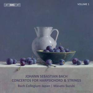 Bach: Concertos for Harpsichord & Strings, Vol. 1