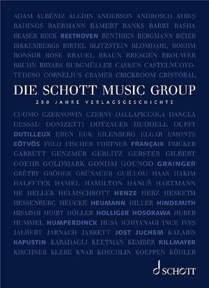 Die Schott Music Group Product Image