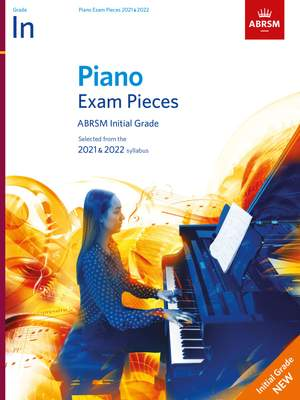 ABRSM: Piano Exam Pieces 2021 & 2022, Initial Grade Product Image