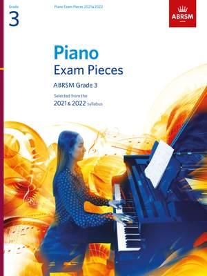 ABRSM: Piano Exam Pieces 2021 & 2022, Grade 3