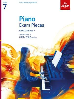 ABRSM: Piano Exam Pieces 2021 & 2022, Grade 7