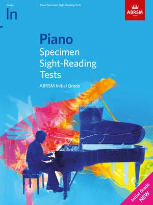 ABRSM: Piano Specimen Sight-Reading Tests, Initial Grade Product Image