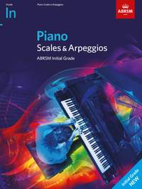 ABRSM: Piano Scales and Arpeggios, Initial Grade