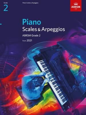 ABRSM: Piano Scales & Arpeggios, Grade 2