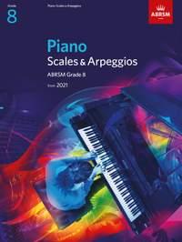 ABRSM: Piano Scales & Arpeggios, Grade 8