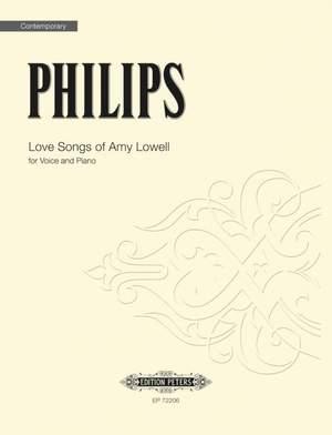 Philips, Julian: Love Songs of Amy Lowell