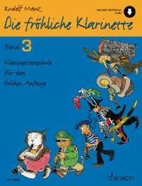 Mauz, R: Die fröhliche Klarinette Band 3