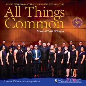 All Things Common: Music of Tarik O'Regan Product Image