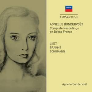 Agnelle Bundervoët: Complete Recordings On Decca France