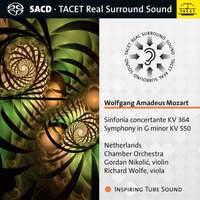 Mozart: Sinfonia Concertante Kv 364, Symphony No. 40 in G Minor Kv 550