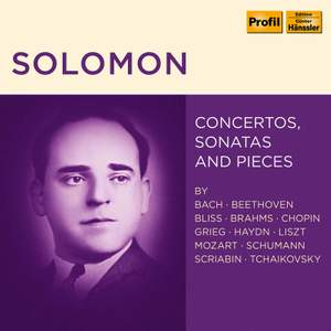 Solomon - Concertos, Sonatas & Pieces Product Image