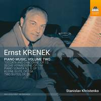 Krenek: Piano Music, Vol. 2