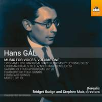 Gál: Music For Voices, Vol. 1