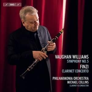 Vaughan Williams: Symphony No. 5 & Finzi: Clarinet Concerto