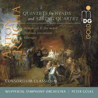 Quintets For Wind & Strings/ Symphony in Eb Major