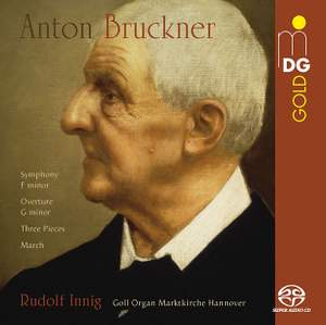 Bruckner: Early Orchestral Pieces Arr. Organ Product Image