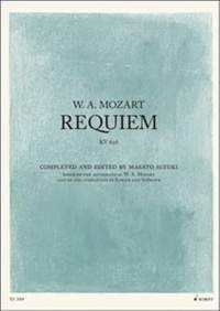 Mozart: Requiem (New edition by Masato Suzuki)