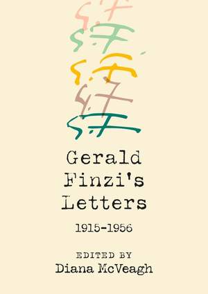 Gerald Finzi's Letters, 1915-1956 Product Image