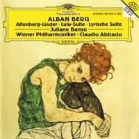 Berg: Altenberg-Lieder, Lulu-Suite, Lyrische Suite