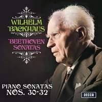 Beethoven: Piano Sonatas Nos. 30, 31 & 32