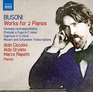 Busoni: Works for Two Pianos