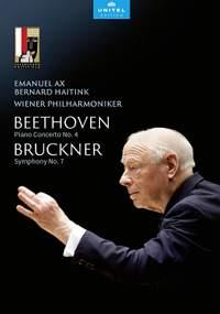 Beethoven: Piano Concerto No. 4 & Bruckner: Symphony No. 7 (DVD)
