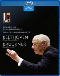 Beethoven: Piano Concerto No. 4 & Bruckner: Symphony No. 7 (Blu-ray)