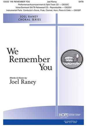 Joel Raney: We Remember You Product Image