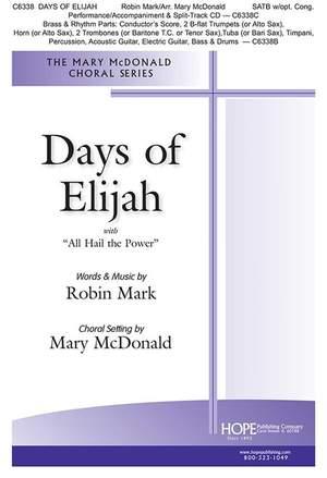 Robin Mark: Days of Elijah Product Image