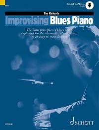 Richards, T: Improvising Blues Piano